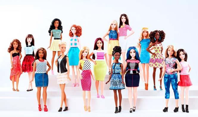 Η νέα Barbie έρχεται με 4 διαφορετικούς σωματότυπους (1)