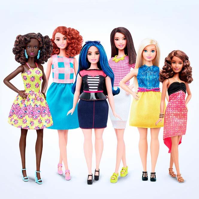 Η νέα Barbie έρχεται με 4 διαφορετικούς σωματότυπους (2)