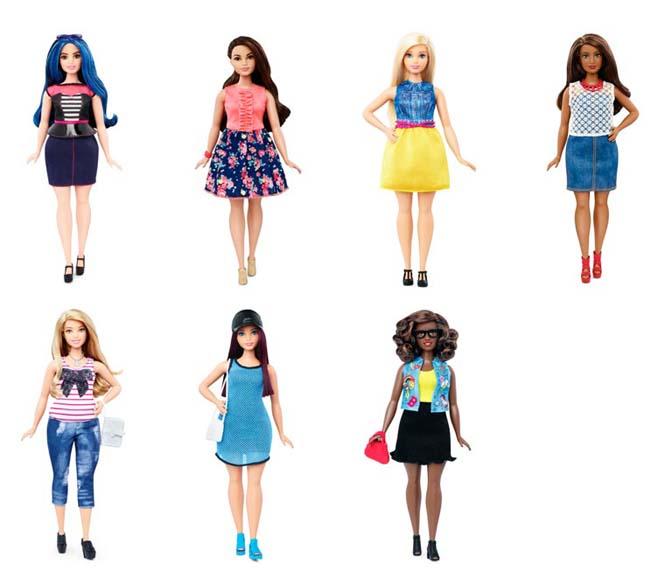 Η νέα Barbie έρχεται με 4 διαφορετικούς σωματότυπους (4)
