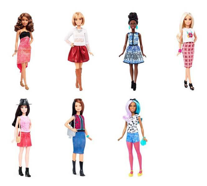 Η νέα Barbie έρχεται με 4 διαφορετικούς σωματότυπους (6)