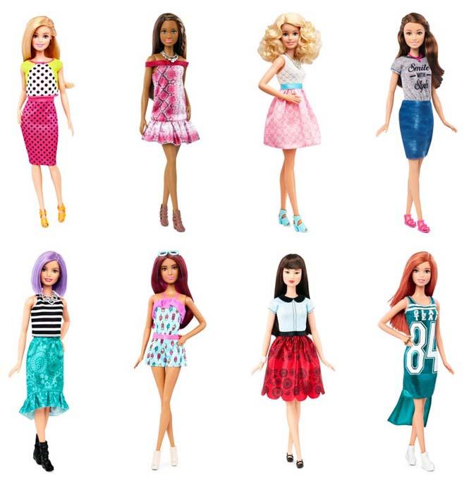 Η νέα Barbie έρχεται με 4 διαφορετικούς σωματότυπους (7)