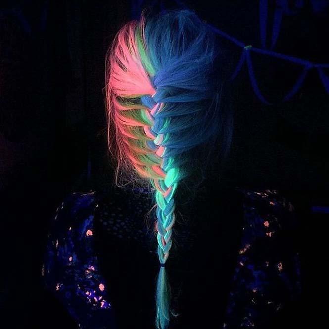 Νέες βαφές για μαλλιά που φωσφορίζουν στο σκοτάδι (1)
