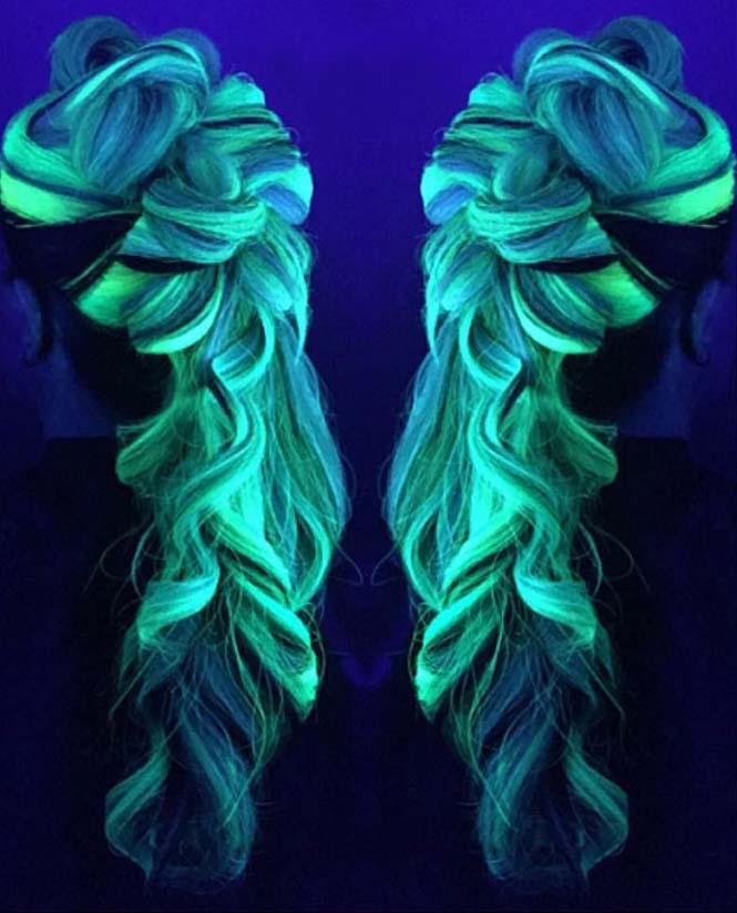 Νέες βαφές για μαλλιά που φωσφορίζουν στο σκοτάδι (5)