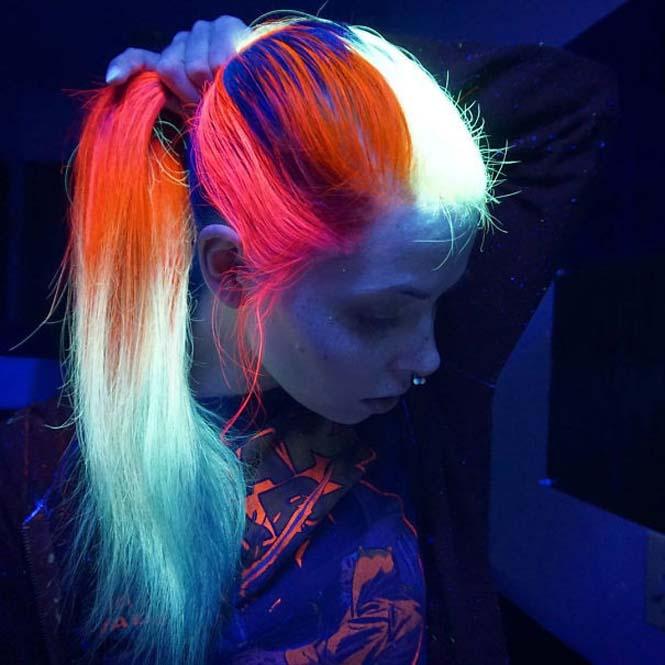 Νέες βαφές για μαλλιά που φωσφορίζουν στο σκοτάδι (6)