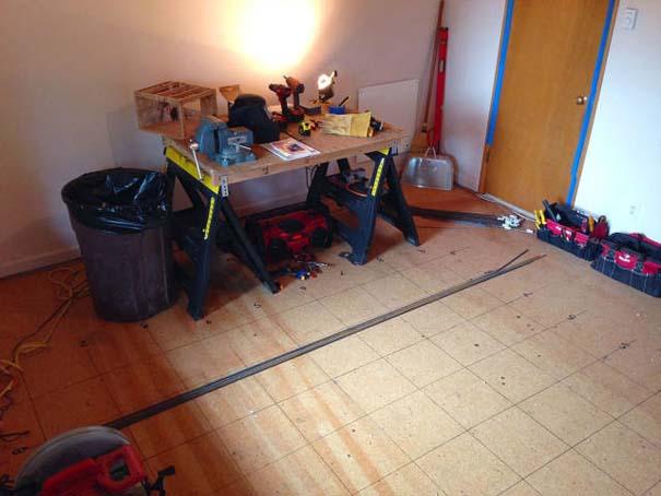Πατέρας αφιέρωσε 18 μήνες για να μεταμορφώσει το δωμάτιο της κόρης του σε δενδρόσπιτο νεράιδας (3)