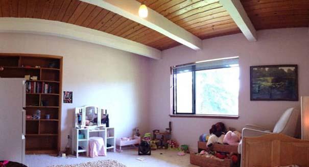 Πατέρας αφιέρωσε 18 μήνες για να μεταμορφώσει το δωμάτιο της κόρης του σε δενδρόσπιτο νεράιδας (4)