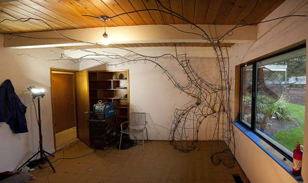 Πατέρας αφιέρωσε 18 μήνες για να μεταμορφώσει το δωμάτιο της κόρης του σε δενδρόσπιτο νεράιδας (8)