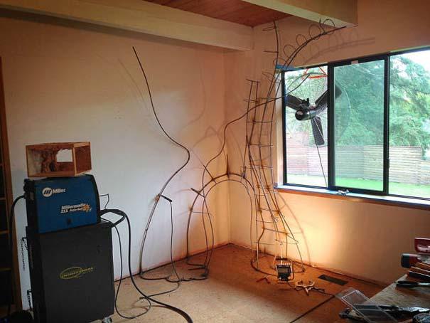 Πατέρας αφιέρωσε 18 μήνες για να μεταμορφώσει το δωμάτιο της κόρης του σε δενδρόσπιτο νεράιδας (9)