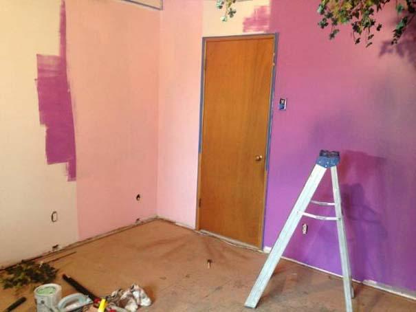 Πατέρας αφιέρωσε 18 μήνες για να μεταμορφώσει το δωμάτιο της κόρης του σε δενδρόσπιτο νεράιδας (15)
