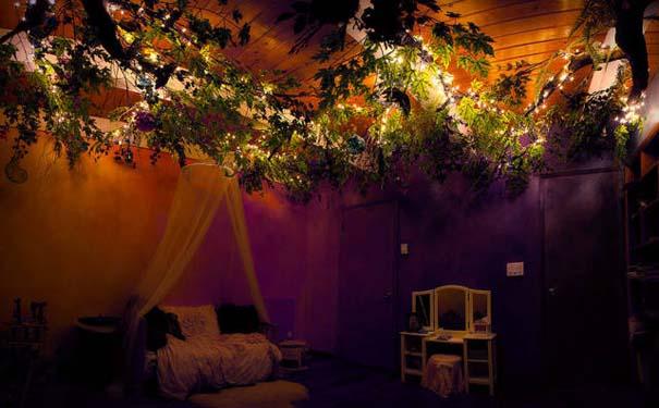 Πατέρας αφιέρωσε 18 μήνες για να μεταμορφώσει το δωμάτιο της κόρης του σε δενδρόσπιτο νεράιδας (20)