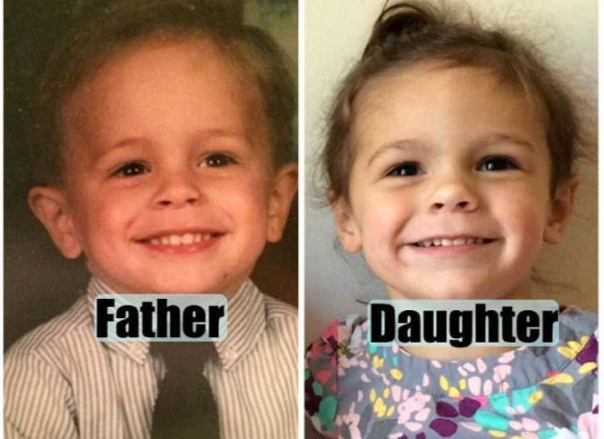Περιπτώσεις γονιών και παιδιών... σαν φωτοτυπία (5)