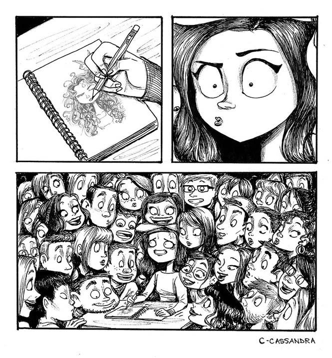 Προβλήματα γυναικών σε σκίτσα (6)