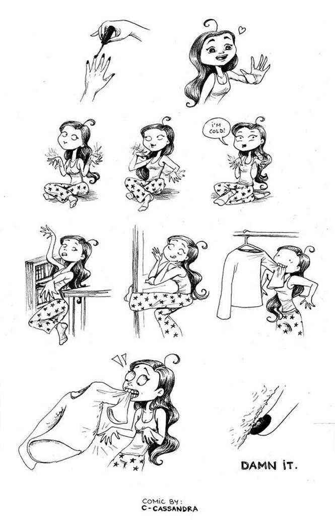 Προβλήματα γυναικών σε σκίτσα (22)