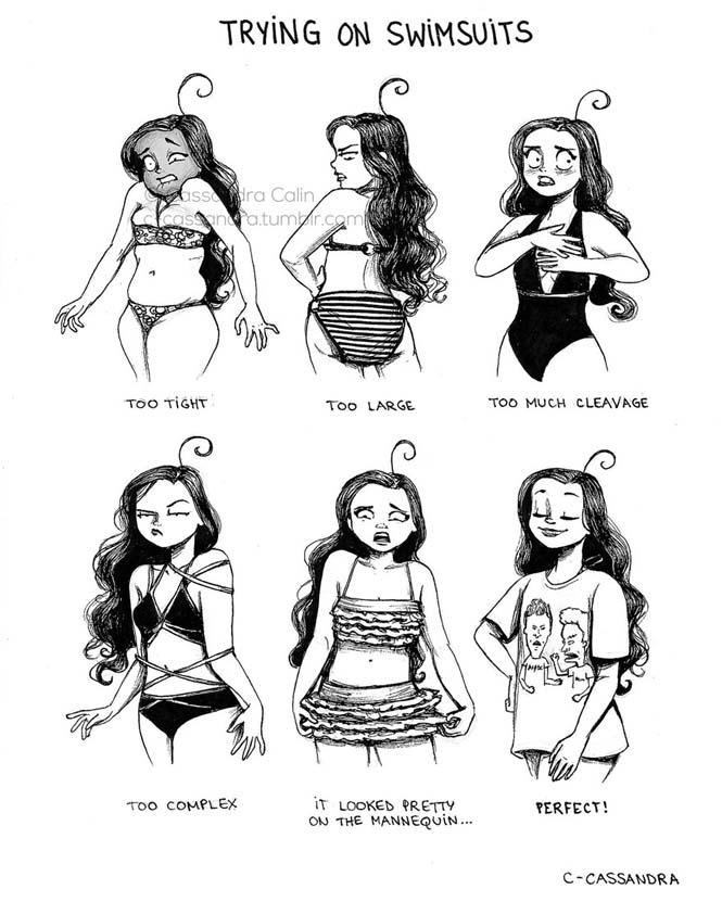 Προβλήματα γυναικών σε σκίτσα (24)