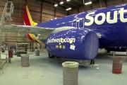 Πως βάφεται ένα αεροπλάνο