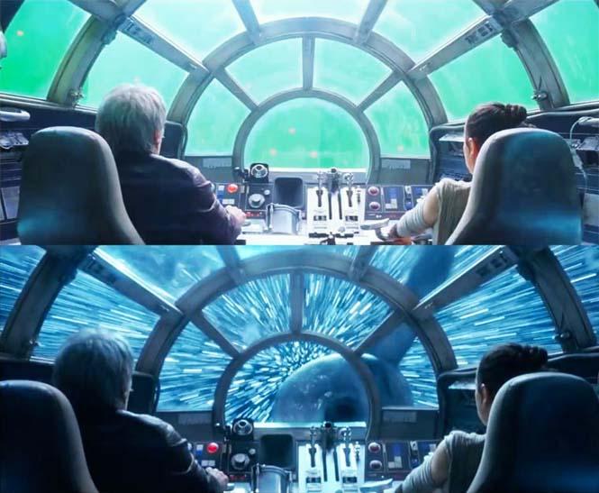 Star Wars VII: The Force Awakens - Πριν και μετά τα ειδικά εφέ (1)