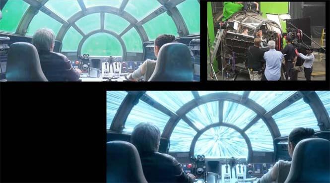 Star Wars VII: The Force Awakens - Πριν και μετά τα ειδικά εφέ (8)