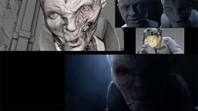 Star Wars VII: The Force Awakens - Πριν και μετά τα ειδικά εφέ (10)
