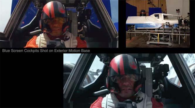 Star Wars VII: The Force Awakens - Πριν και μετά τα ειδικά εφέ (11)