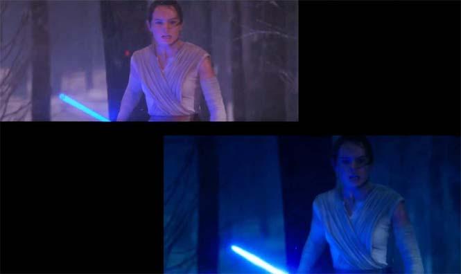 Star Wars VII: The Force Awakens - Πριν και μετά τα ειδικά εφέ (12)