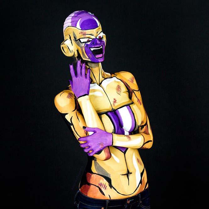 Σούπερ ήρωες με body painting (14)