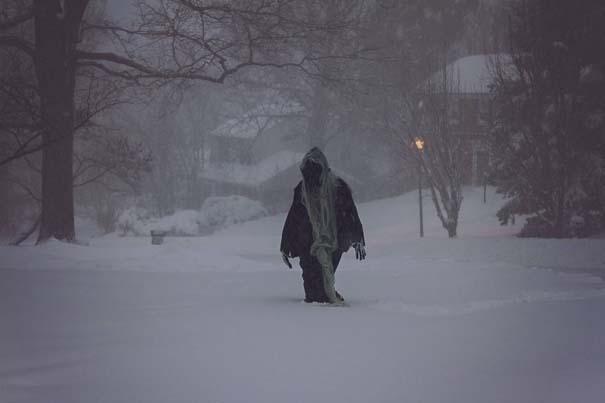 Φωτογραφίες που καταγράφουν την τρομακτική χιονοθύελλα που πλήττει τις ανατολικές ακτές των ΗΠΑ (4)