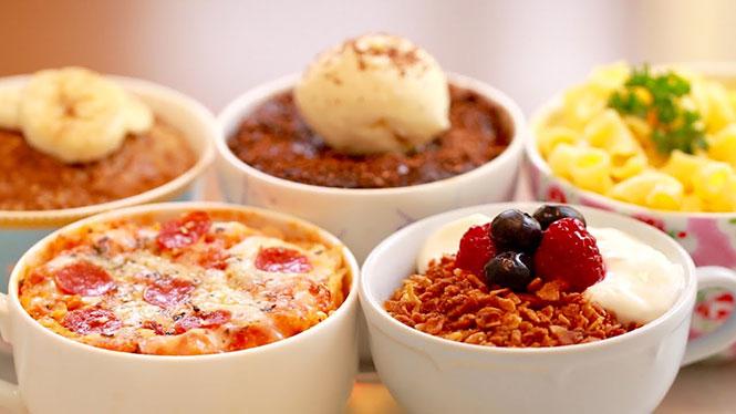 5 λαχταριστές συνταγές σε κούπα για τον φούρνο μικροκυμάτων