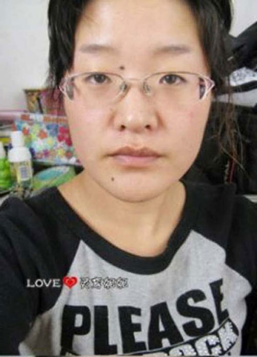 Άλλη μια εντυπωσιακή μεταμόρφωση με μακιγιάζ (1)