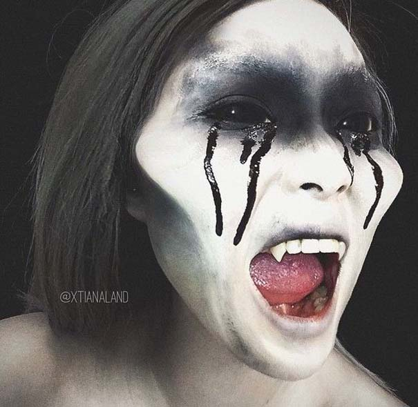 Αποκριάτικα μακιγιάζ που προκαλούν ανατριχίλα (14)