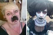 Αποκριάτικα μακιγιάζ που προκαλούν ανατριχίλα