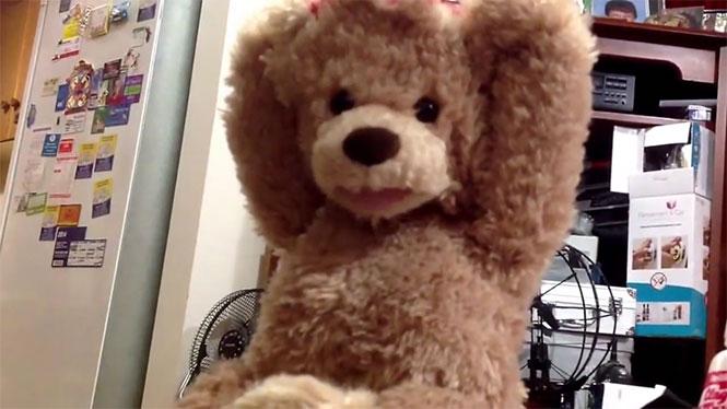 Αυτό το αθώο αρκουδάκι προκαλεί τρόμο