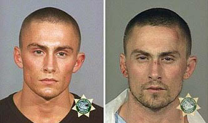Φωτογραφίες σύλληψης καταγράφουν τον κατήφορο ενός άνδρα στον κόσμο του εγκλήματος (1)