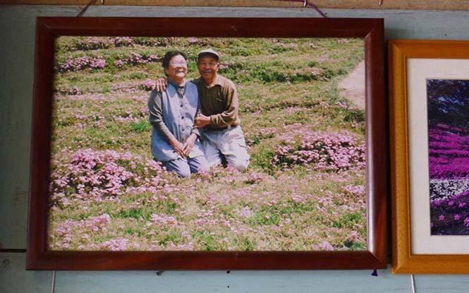 Ηλικιωμένος φύτεψε στον κήπο χιλιάδες λουλούδια για να τα μυρίσει η τυφλή σύζυγος του (9)