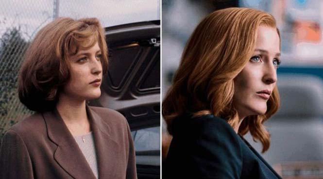 Οι ηθοποιοί της σειράς X-Files τότε και τώρα (2)
