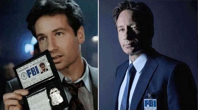 Οι ηθοποιοί της σειράς X-Files τότε και τώρα (6)