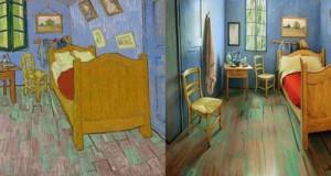 Καλλιτέχνες διαμόρφωσαν ένα υπνοδωμάτιο σαν τον διάσημο πίνακα του Van Gogh