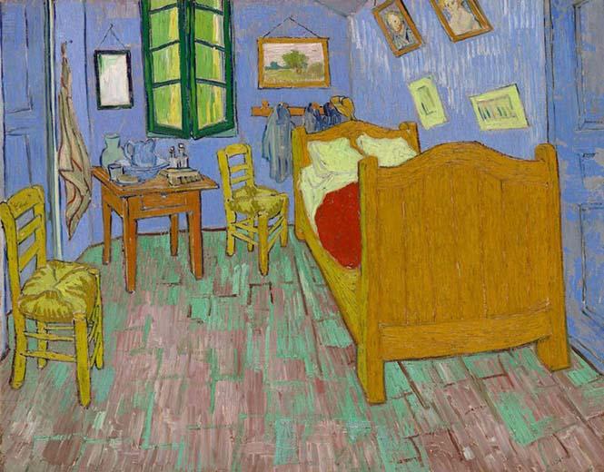 Καλλιτέχνες διαμόρφωσαν ένα υπνοδωμάτιο σαν τον διάσημο πίνακα του Van Gogh (7)
