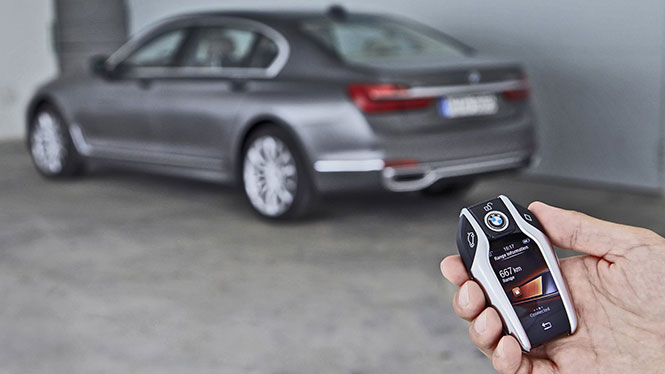 Το κλειδί της νέας BMW  7 Series