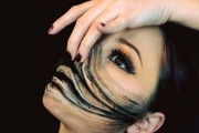 Makeup artist με απίστευτη φαντασία μετατρέπει τον εαυτό της σε τρομακτικά τέρατα (1)