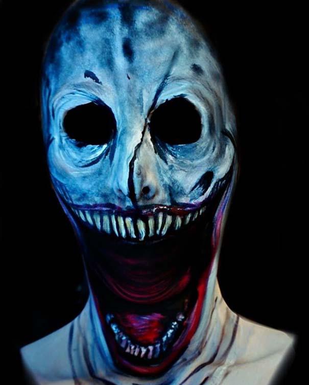 Makeup artist με απίστευτη φαντασία μετατρέπει τον εαυτό της σε τρομακτικά τέρατα (3)