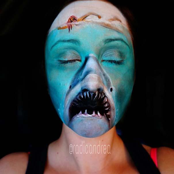 Makeup artist με απίστευτη φαντασία μετατρέπει τον εαυτό της σε τρομακτικά τέρατα (7)