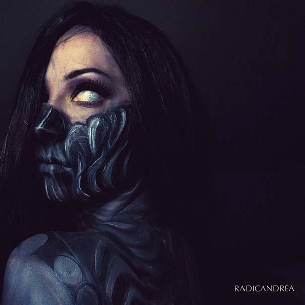 Makeup artist με απίστευτη φαντασία μετατρέπει τον εαυτό της σε τρομακτικά τέρατα (15)