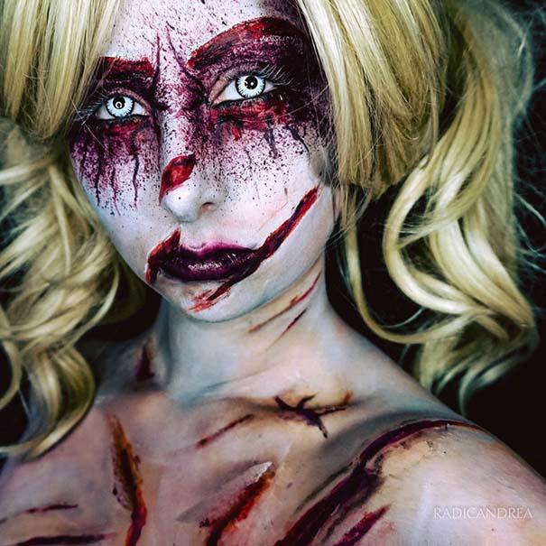 Makeup artist με απίστευτη φαντασία μετατρέπει τον εαυτό της σε τρομακτικά τέρατα (16)