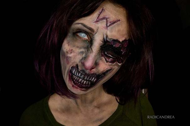 Makeup artist με απίστευτη φαντασία μετατρέπει τον εαυτό της σε τρομακτικά τέρατα (17)