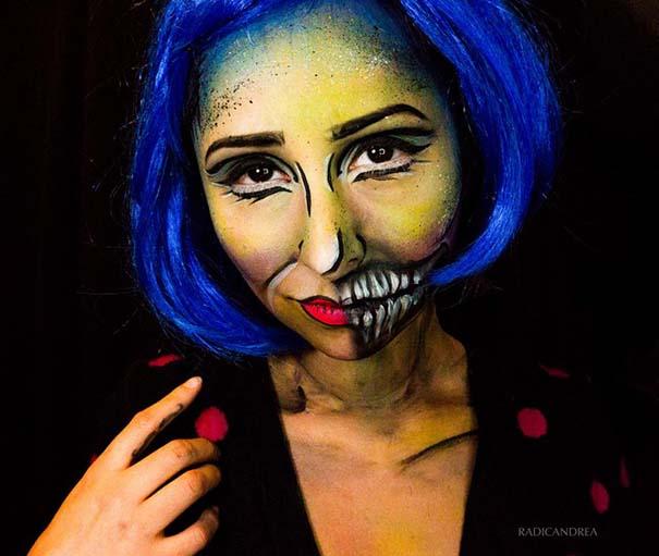 Makeup artist με απίστευτη φαντασία μετατρέπει τον εαυτό της σε τρομακτικά τέρατα (18)