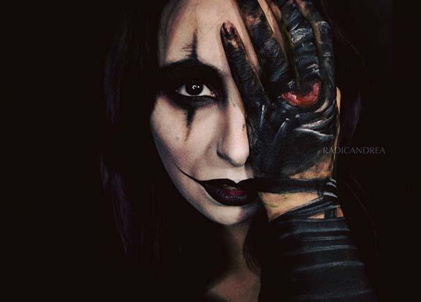 Makeup artist με απίστευτη φαντασία μετατρέπει τον εαυτό της σε τρομακτικά τέρατα (20)