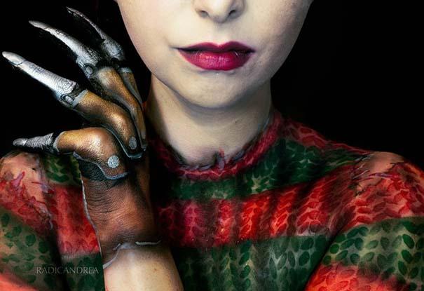 Makeup artist με απίστευτη φαντασία μετατρέπει τον εαυτό της σε τρομακτικά τέρατα (21)