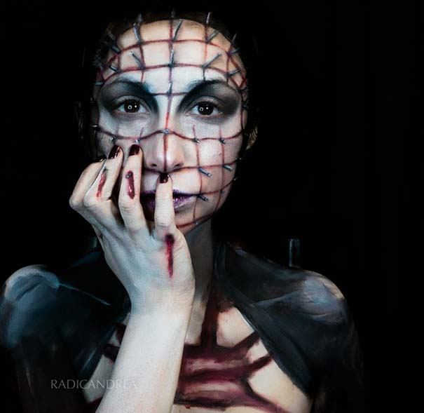 Makeup artist με απίστευτη φαντασία μετατρέπει τον εαυτό της σε τρομακτικά τέρατα (22)