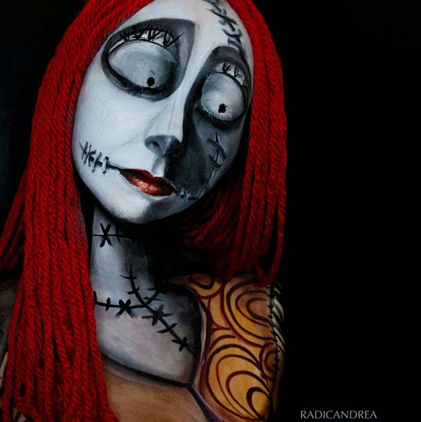 Makeup artist με απίστευτη φαντασία μετατρέπει τον εαυτό της σε τρομακτικά τέρατα (25)
