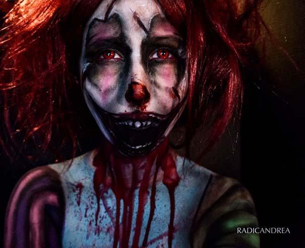 Makeup artist με απίστευτη φαντασία μετατρέπει τον εαυτό της σε τρομακτικά τέρατα (30)
